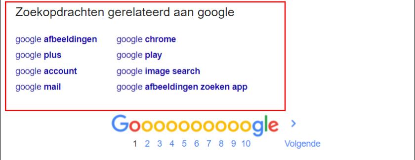 google autosuggest zoekwoordonderzoek