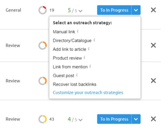 link building strategie