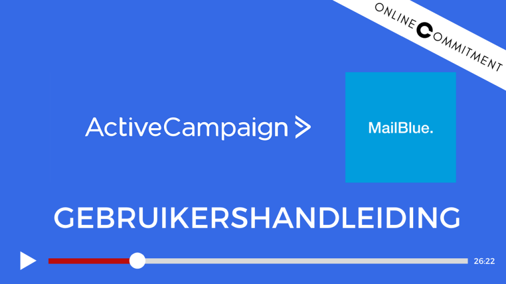 activecampaign mailblue handleiding