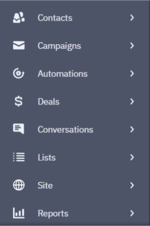categorieen activecampaign mailblue