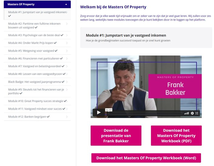 masters of property review