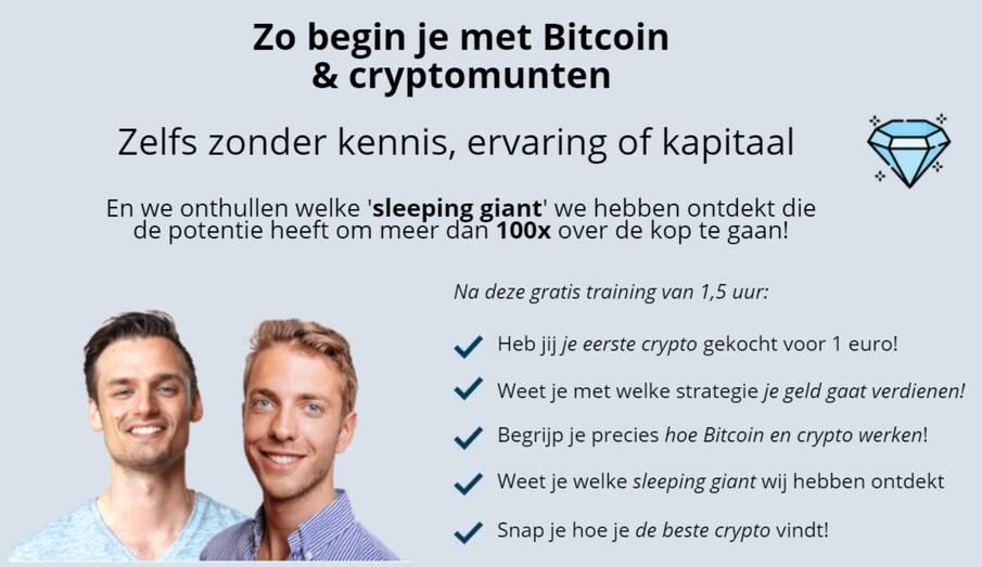 gratis crypto training